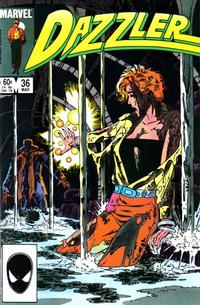 Cover Thumbnail for Dazzler (Marvel, 1981 series) #36 [Direct Edition]
