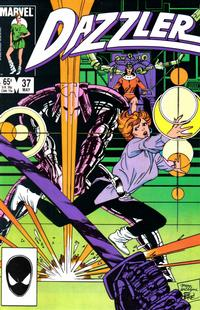 Cover Thumbnail for Dazzler (Marvel, 1981 series) #37 [Direct]