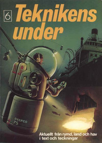Cover for Teknikens under (Semic, 1976 series) #6