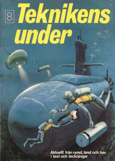 Cover for Teknikens under (Semic, 1976 series) #8