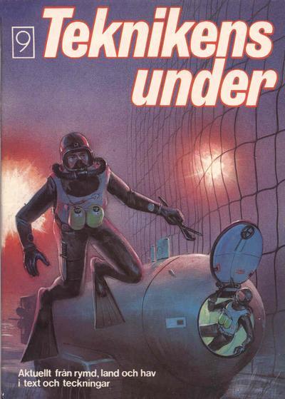 Cover for Teknikens under (Semic, 1976 series) #9