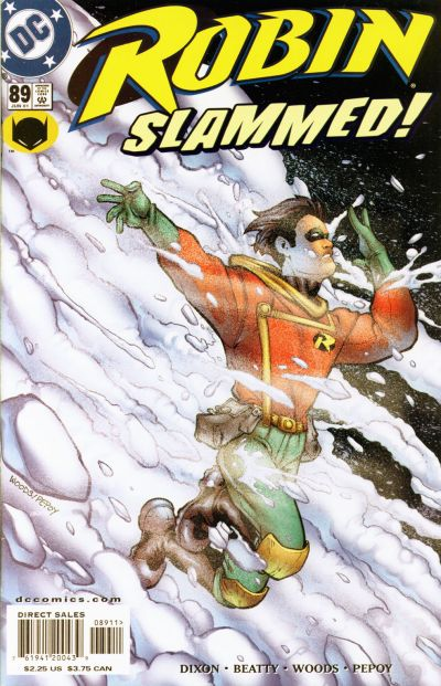 Cover for Robin (DC, 1993 series) #89