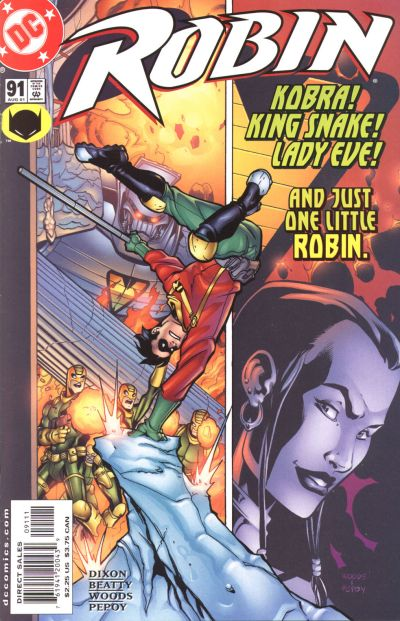 Cover for Robin (DC, 1993 series) #91