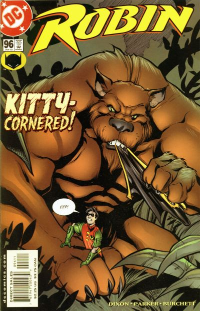 Cover for Robin (DC, 1993 series) #96