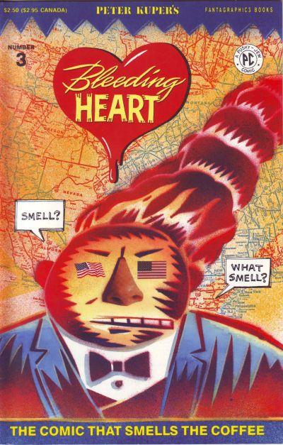Cover for Bleeding Heart (Fantagraphics, 1991 series) #3