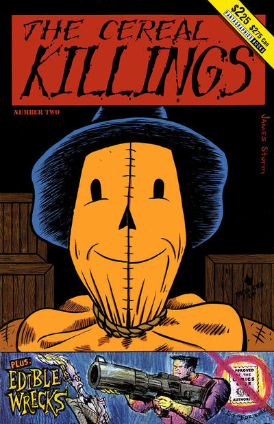 Cover for The Cereal Killings (Fantagraphics, 1992 series) #2