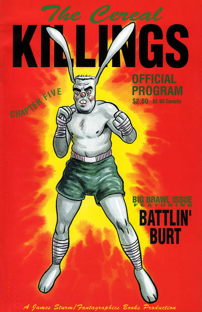 Cover for The Cereal Killings (Fantagraphics, 1992 series) #5