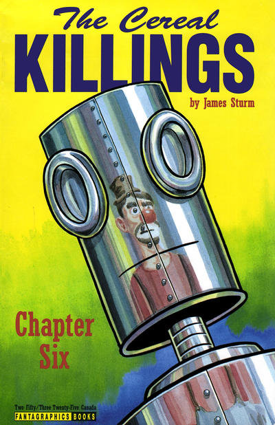 Cover for The Cereal Killings (Fantagraphics, 1992 series) #6