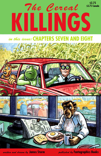 Cover for The Cereal Killings (Fantagraphics, 1992 series) #7