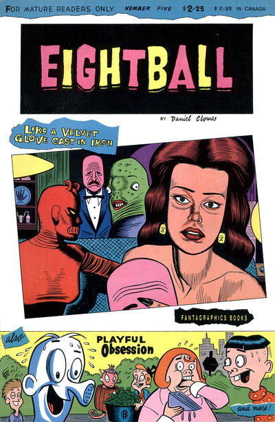 Cover for Eightball (Fantagraphics, 1989 series) #5