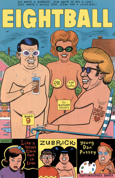 Cover for Eightball (Fantagraphics, 1989 series) #9