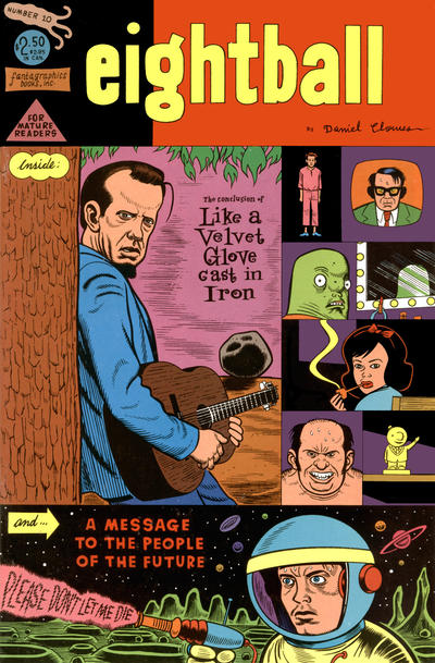 Cover for Eightball (Fantagraphics, 1989 series) #10