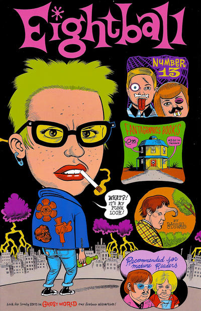 Cover for Eightball (Fantagraphics, 1989 series) #13