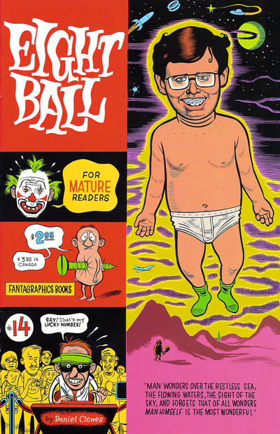 Cover for Eightball (Fantagraphics, 1989 series) #14