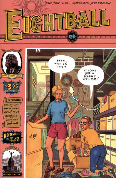Cover for Eightball (Fantagraphics, 1989 series) #16