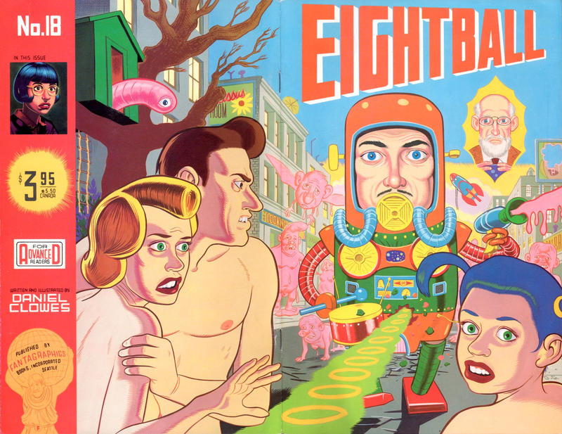 Cover for Eightball (Fantagraphics, 1989 series) #18