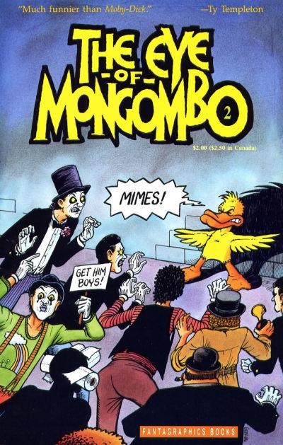 Cover for The Eye of Mongombo (Fantagraphics, 1989 series) #2