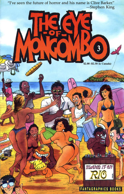 Cover for The Eye of Mongombo (Fantagraphics, 1989 series) #3