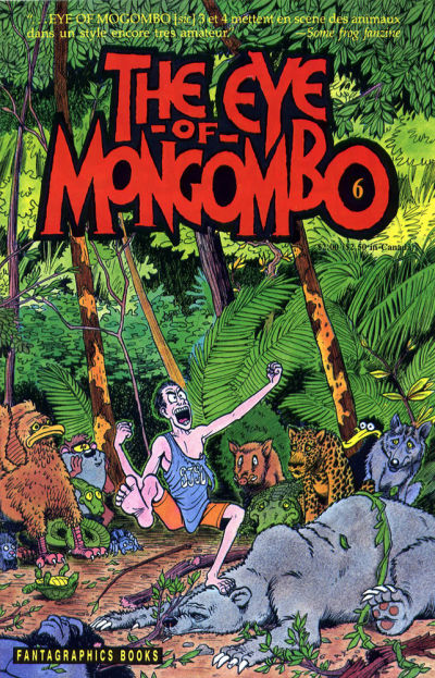 Cover for The Eye of Mongombo (Fantagraphics, 1989 series) #6