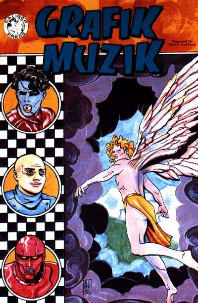 Cover for Grafik Muzik (Caliber Press, 1990 series) #2