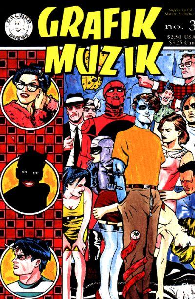 Cover for Grafik Muzik (Caliber Press, 1990 series) #3