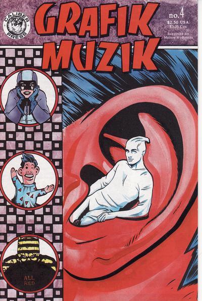 Cover for Grafik Muzik (Caliber Press, 1990 series) #4