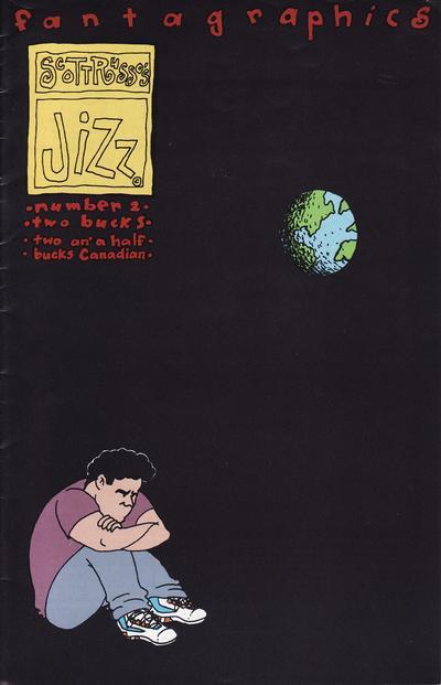 Cover for Jizz (Fantagraphics, 1991 series) #2