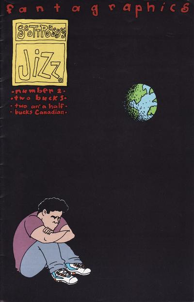 Cover for Jizz (Fantagraphics, 1991 series) #2