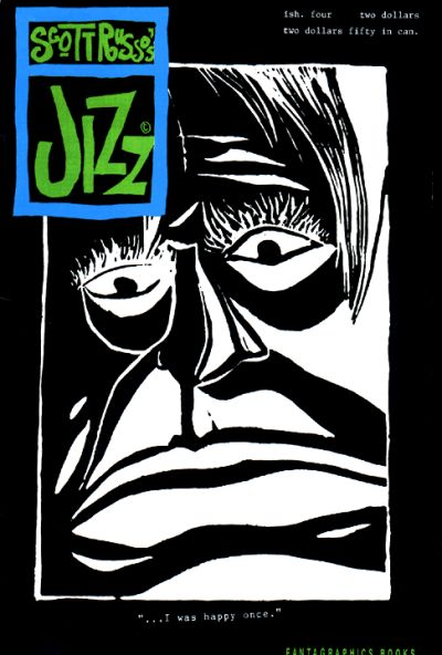 Cover for Jizz (Fantagraphics, 1991 series) #4
