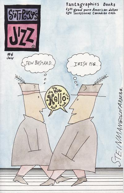 Cover for Jizz (Fantagraphics, 1991 series) #6