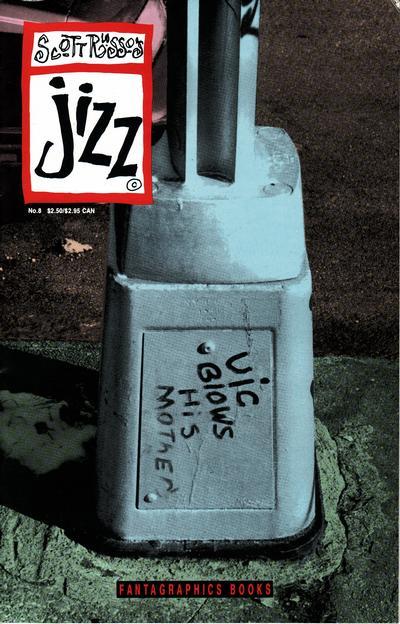 Cover for Jizz (Fantagraphics, 1991 series) #8