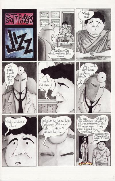 Cover for Jizz (Fantagraphics, 1991 series) #10