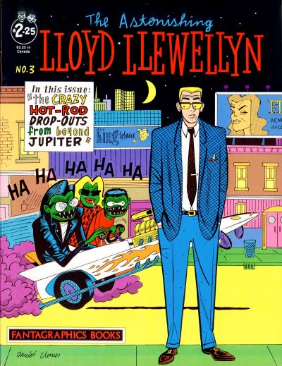 Cover for Lloyd Llewellyn (Fantagraphics, 1986 series) #3