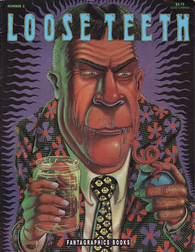 Cover for Loose Teeth (Fantagraphics, 1991 series) #2