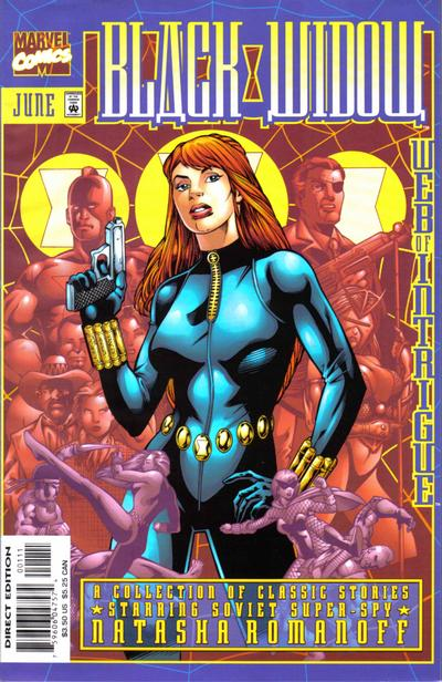 Cover for Black Widow: Web of Intrigue (Marvel, 1999 series) #1