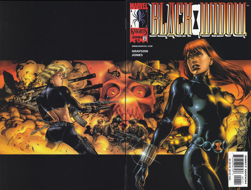 Cover for Black Widow (Marvel, 1999 series) #1 [Dynamic Forces Cover]