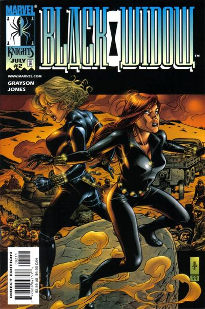 Cover for Black Widow (Marvel, 1999 series) #2