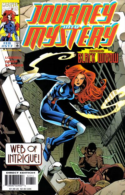 Cover for Journey into Mystery (Marvel, 1996 series) #517