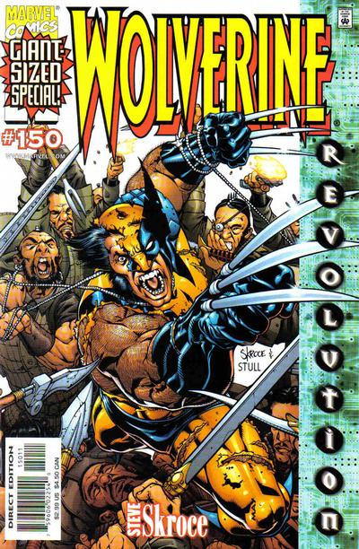 Cover for Wolverine (Marvel, 1988 series) #150 [Skroce Cover]