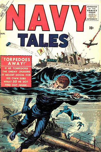 Cover for Navy Tales (Marvel, 1957 series) #1