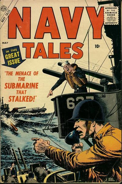 Cover for Navy Tales (Marvel, 1957 series) #3