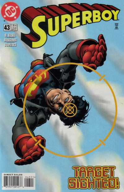 Cover for Superboy (DC, 1994 series) #43 [Direct Sales]