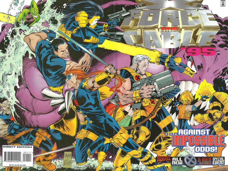 Cover for X-Force and Cable '95 (Marvel, 1995 series) #1