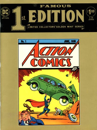 Cover for Famous First Edition (DC, 1974 series) #C-26