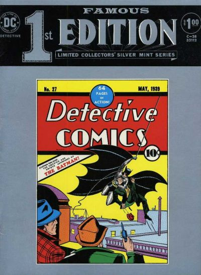 Cover for Famous First Edition (DC, 1974 series) #C-28