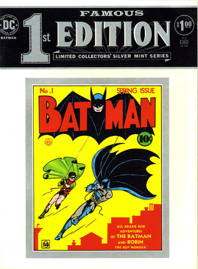 Cover for Famous First Edition (DC, 1974 series) #F-6 (F-5)
