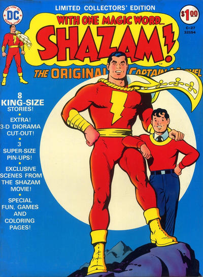 Cover for Limited Collectors' Edition (DC, 1972 series) #C-27