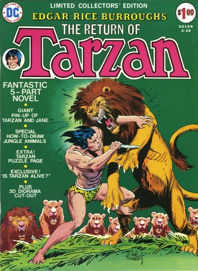 Cover for Limited Collectors' Edition (DC, 1972 series) #C-29