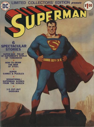 Cover for Limited Collectors' Edition (DC, 1972 series) #C-31