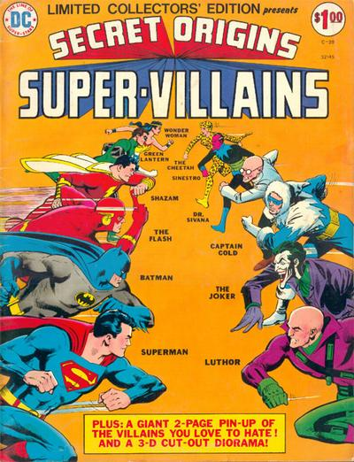 Cover for Limited Collectors' Edition (DC, 1972 series) #C-39
